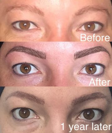 Micropigmentation vrs Microblading with hairloss  HairandNow